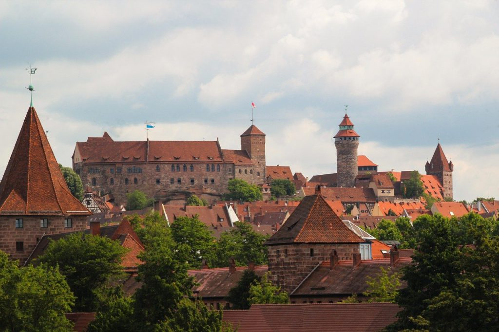 nuremberg, castle, middle ages