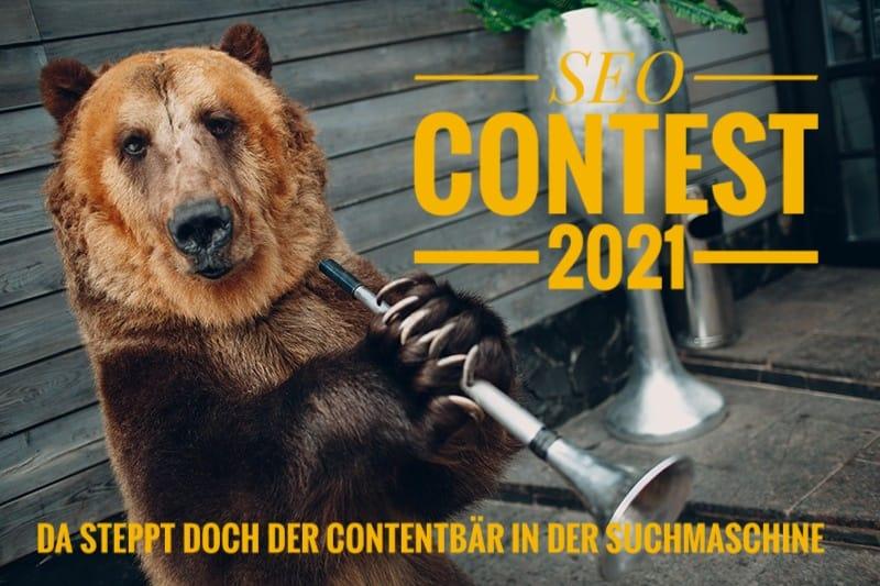 Contentbär SEO Contest 2021
